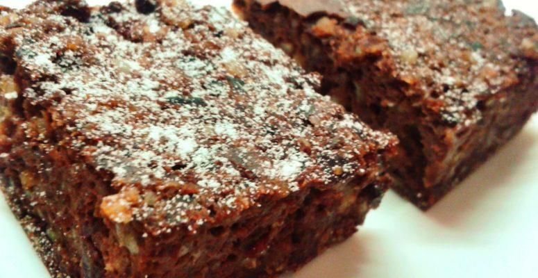 Dietetyczne ciasto czekoladowe zfasoli