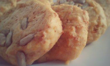 Wysokobiałkowe ciasteczka waniliowe