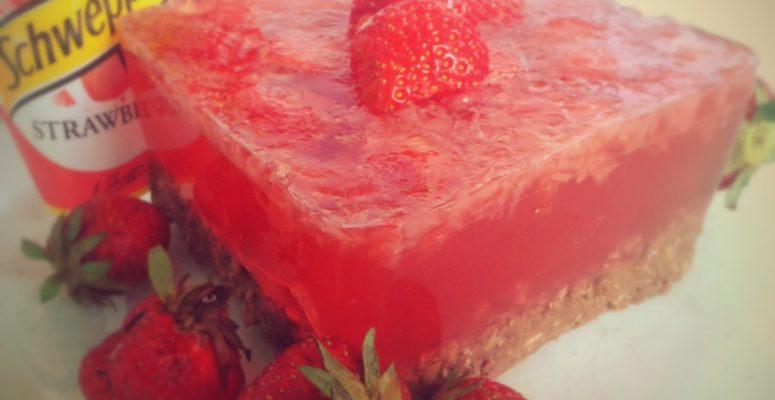 Ciasto Truskawkowy Schweppes