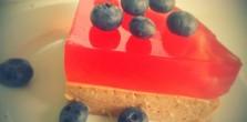 ciasto z ciecierzycy fit bez cukru