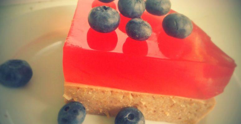 Proteinowe ciasto zciecierzycy fit